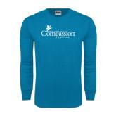 Sapphire Long Sleeve T Shirt-w/Tag Line