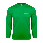 Syntrel Performance Kelly Green Longsleeve Shirt-w/Tag Line