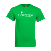 Kelly Green T Shirt-w/Tag Line