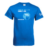 Royal Blue T Shirt-Changing Their Lives Changed Mine