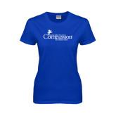Ladies Royal T Shirt-w/Tag Line