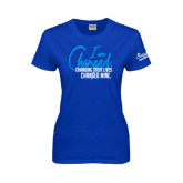 Ladies Royal T Shirt-I am Changed-Changing Their Lives Changed Mine.
