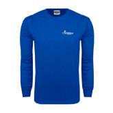 Royal Long Sleeve T Shirt-w/Tag Line
