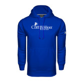 Under Armour Royal Performance Sweats Team Hood-w/Tag Line