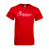 Red T Shirt-w/Tag Line
