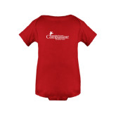 Red Infant Onesie-w/Tag Line