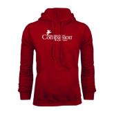 Cardinal Fleece Hood-w/Tag Line