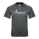 Under Armour Carbon Heather Tech Tee-w/Tag Line