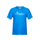 Youth Sapphire T Shirt-w/Tag Line