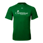 Under Armour Kelly Green Tech Tee-w/Tag Line