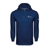 Under Armour Navy Performance Sweats Team Hood-