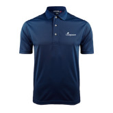 Navy Dry Mesh Polo-