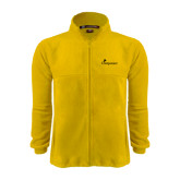Fleece Full Zip Gold Jacket-