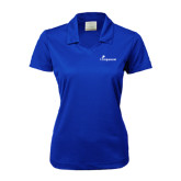 Ladies Nike Golf Dri Fit Royal Micro Pique Polo-