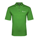 Kelly Green Performance Fine Jacquard Polo-