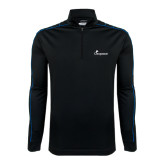 Nike Golf Dri Fit 1/2 Zip Black/Royal Cover Up-