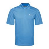 Light Blue Mini Stripe Polo-