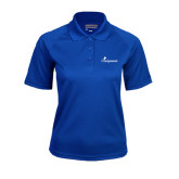 Ladies Royal Textured Saddle Shoulder Polo-