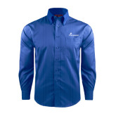 Red House French Blue Dobby Long Sleeve Shirt-