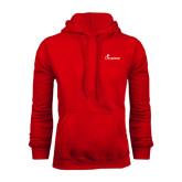 Red Fleece Hood-