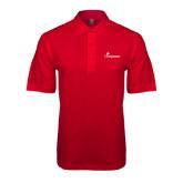 Red Easycare Pique Polo-