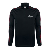Nike Golf Dri Fit 1/2 Zip Black/Red Cover Up-