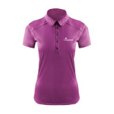 Ladies Ogio Deep Purple Pleated Back Polo-