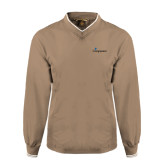 Khaki Executive Windshirt-