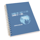 Clear 7 x 10 Spiral Journal Notebook-Changing Their Lives Changed Mine