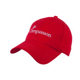 Red Heavyweight Twill Pro Style Hat-