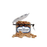 Cashew Indulgence Small Round Canister-w/Tag Line