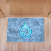 Full Color Indoor Floor Mat-w/Tag Line
