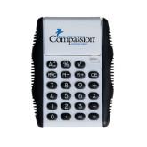White Flip Cover Calculator-w/Tag Line