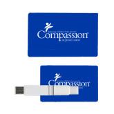 Card USB Drive 4GB-w/Tag Line
