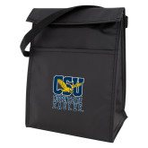 Koozie Black Lunch Sack-CSU Coppin State Eagles