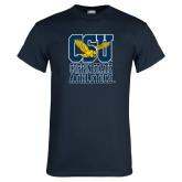 Navy T Shirt-CSU Coppin State Athletics