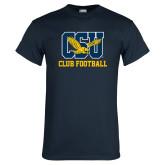 Navy T Shirt-Club Football