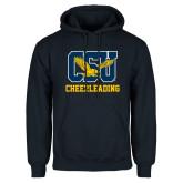 Navy Fleece Hoodie-Cheerleading