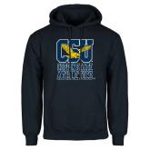 Navy Fleece Hoodie-CSU Coppin State Athletics