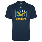 Under Armour Navy Tech Tee-Grandpa