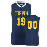 Replica Navy Adult Basketball Jersey-Founded 1900