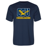 Performance Navy Tee-Cheerleading