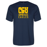 Performance Navy Tee-CSU Coppin State Eagles