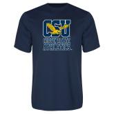 Performance Navy Tee-CSU Coppin State Athletics