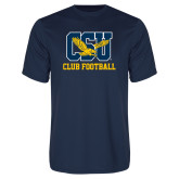 Performance Navy Tee-Club Football