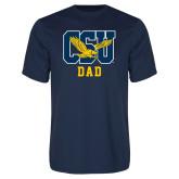Performance Navy Tee-Dad