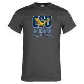 Charcoal T Shirt-CSU Coppin State Eagles