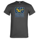Charcoal T Shirt-CSU Coppin State Athletics