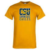 Gold T Shirt-CSU Coppin State Eagles
