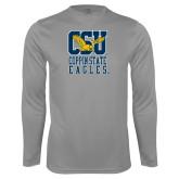Performance Steel Longsleeve Shirt-CSU Coppin State Eagles
